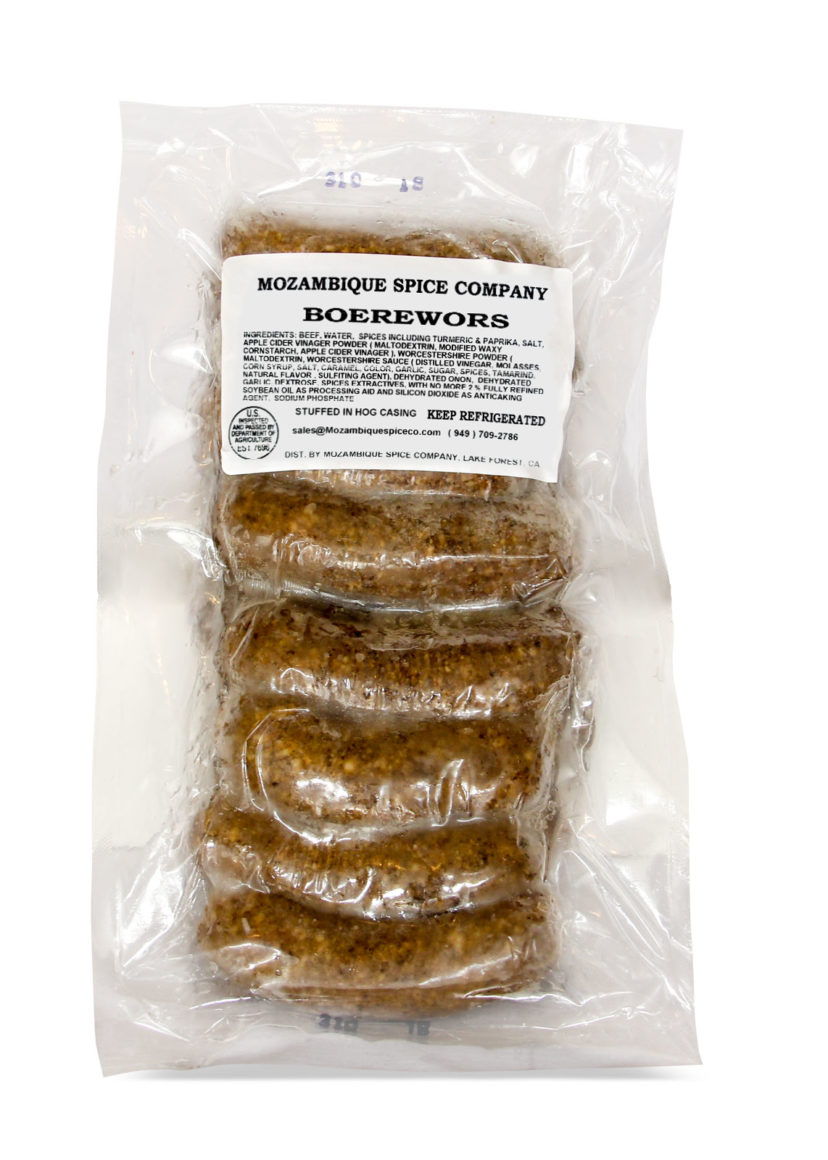 Boerewors (Farmer's Sausage) 20 lb.