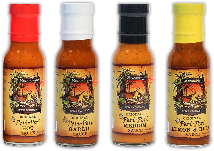 Zambezi Spice bottles