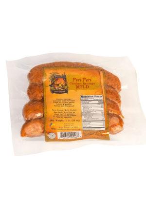 Peri Peri Mild Chicken Sausage 4 pack